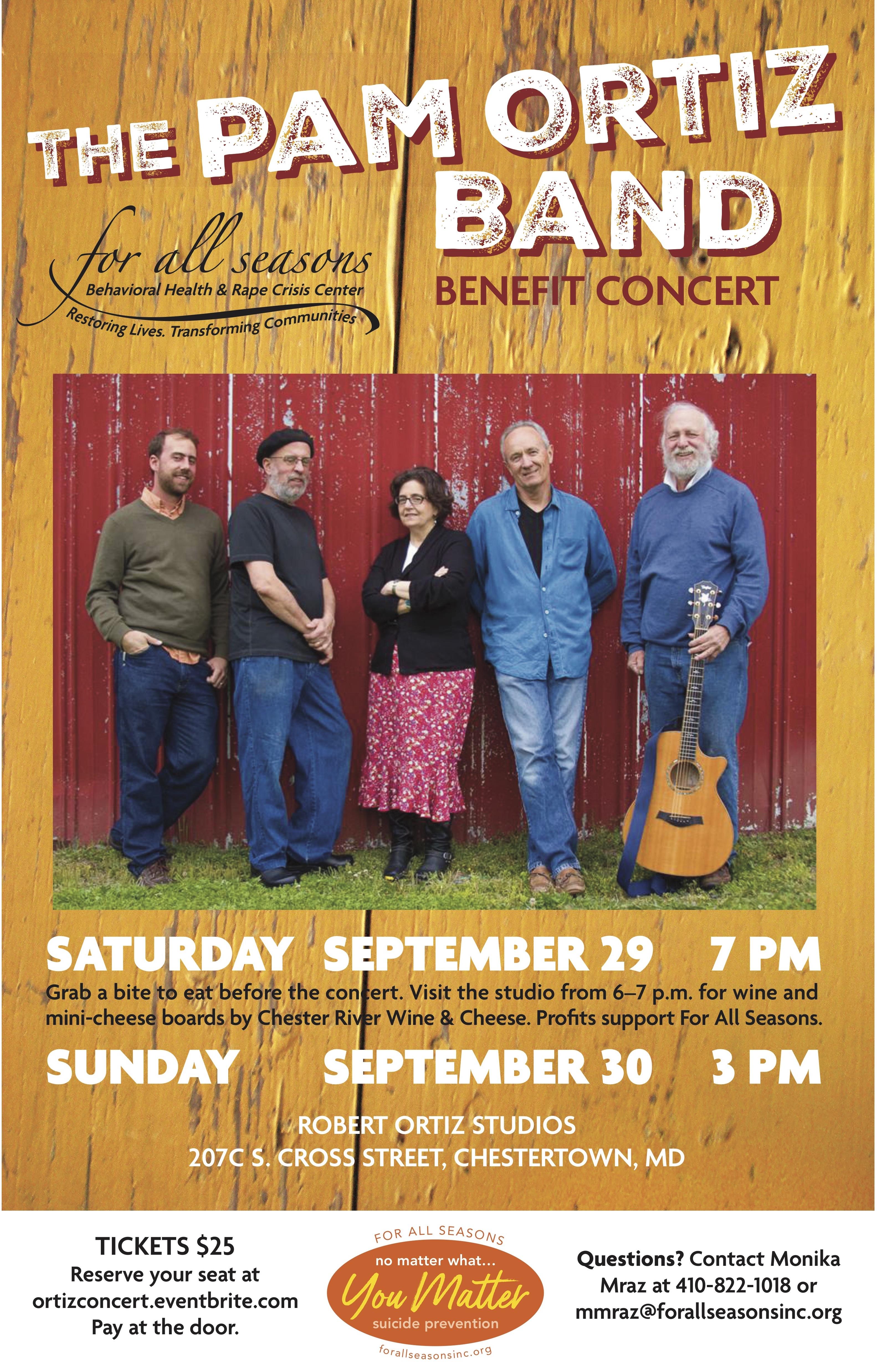 Pam Ortiz Benefit Concert